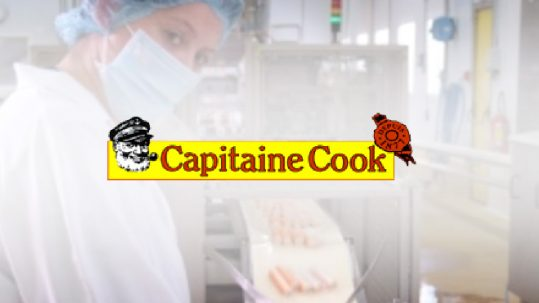 Application de suivi de production - Capitaine Cook