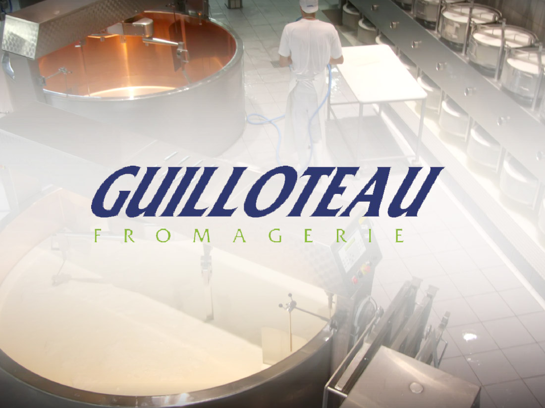 Client Fromagerie Guilloteau Qubes Creative IT