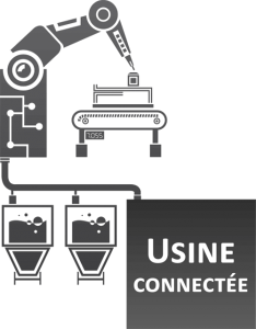 Industrie 4.0 usine connectee Qubes i4 de Creative-IT