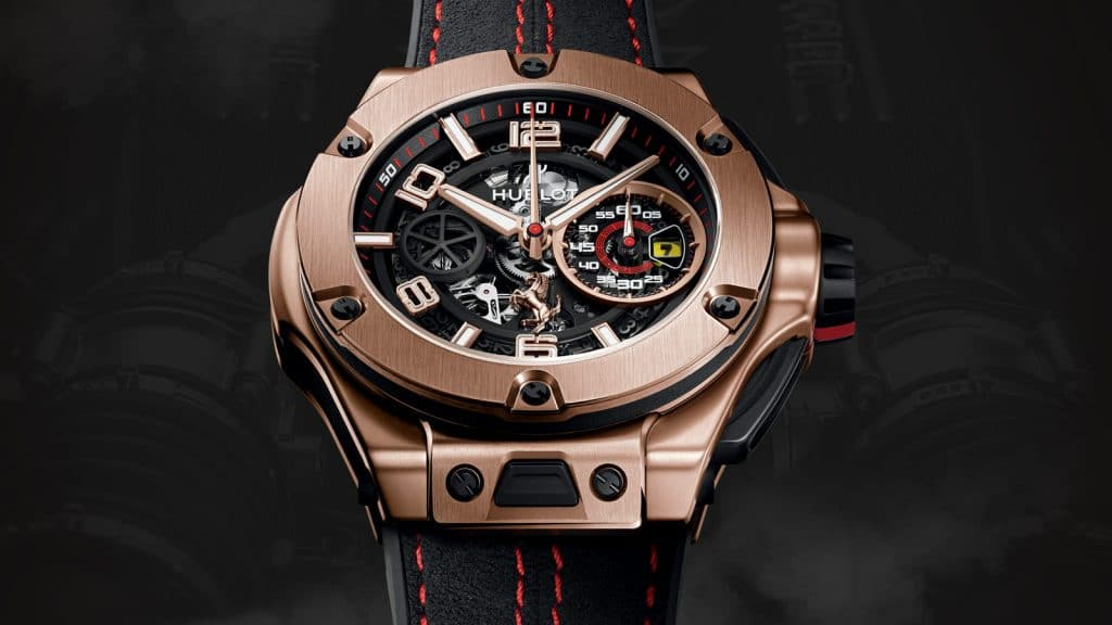 Modèle Big Bang Ferrari Unico de Hublot