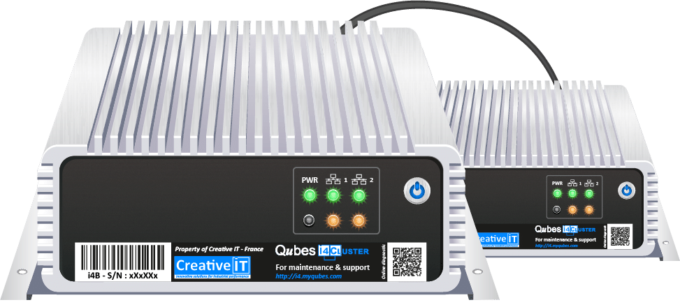 cluster qubes i4 creative-it