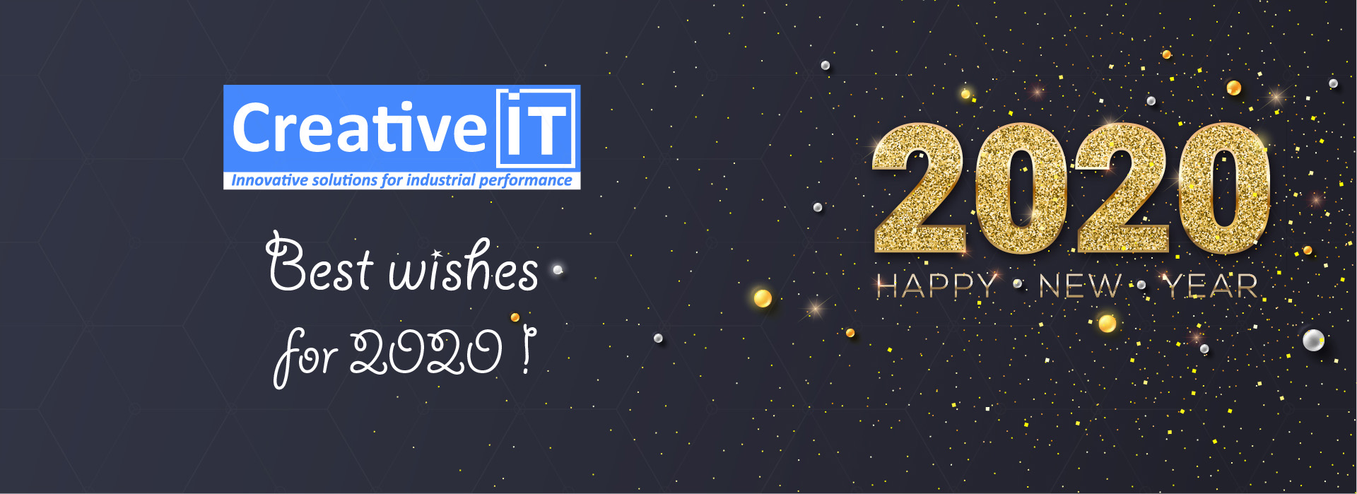 Creative IT – Best wishes for 2020 !
